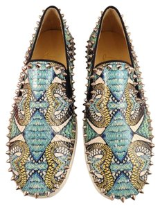 Christian Louboutin Pik Boat Inferno Blue Athletic