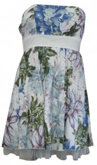 Poetry short dress MULTI FLORAL PRINT on Tradesy