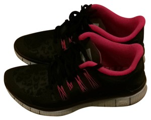 Nike Black And Pink With Black Leopard Athletic