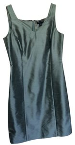 Ann Taylor Silk Lined Sheath Sleeveless Dress