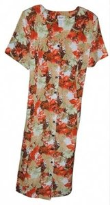 LEVEL ONE 26 Button Front Dress