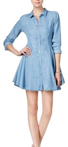 Guess short dress Blue on Tradesy