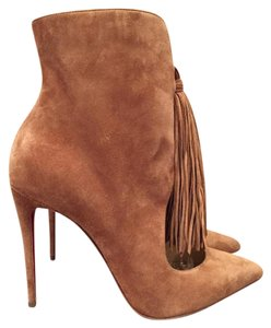 Christian Louboutin Ottocarl Fringe Brown Boots