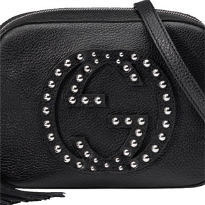 Gucci Studded Embellished Edgy Cross Body Bag