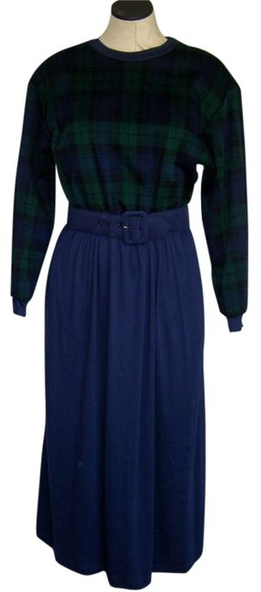 Preload https://item1.tradesy.com/images/orvis-blue-and-green-plaid-navy-poly-cotton-knit-mid-length-workoffice-dress-size-6-s-173560-0-0.jpg?width=400&height=650