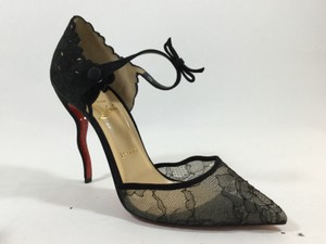 Christian Louboutin Magicadiva Lace Black Pumps
