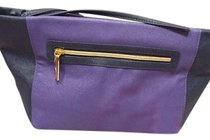 Estée Lauder Estee Lauder Signature Cosmetic Bag faux Leather Purple/Blue