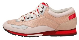 Lanvin Sneakers Italy Python Rose Athletic
