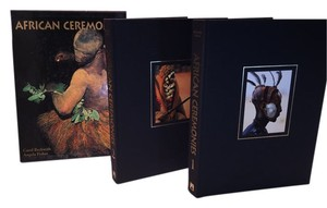 African Ceremonies; 2 Volume Table Book Set [ Roxanne Anjou Closet ]