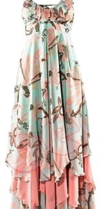 Mint green & Pink Maxi Dress by H&M