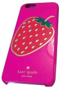 Kate Spade Kate Spade Pink Strawberry Phone Case