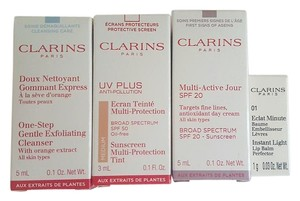 Other Clarins Sample Set + Bag
