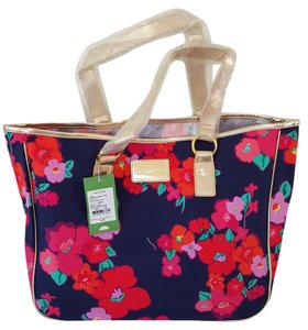 Lilly Pulitzer Tote in Navy floral print