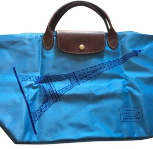 Longchamp Tote in Blue