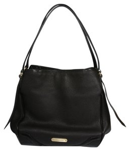 Burberry Tote in Black - Bridle House Check