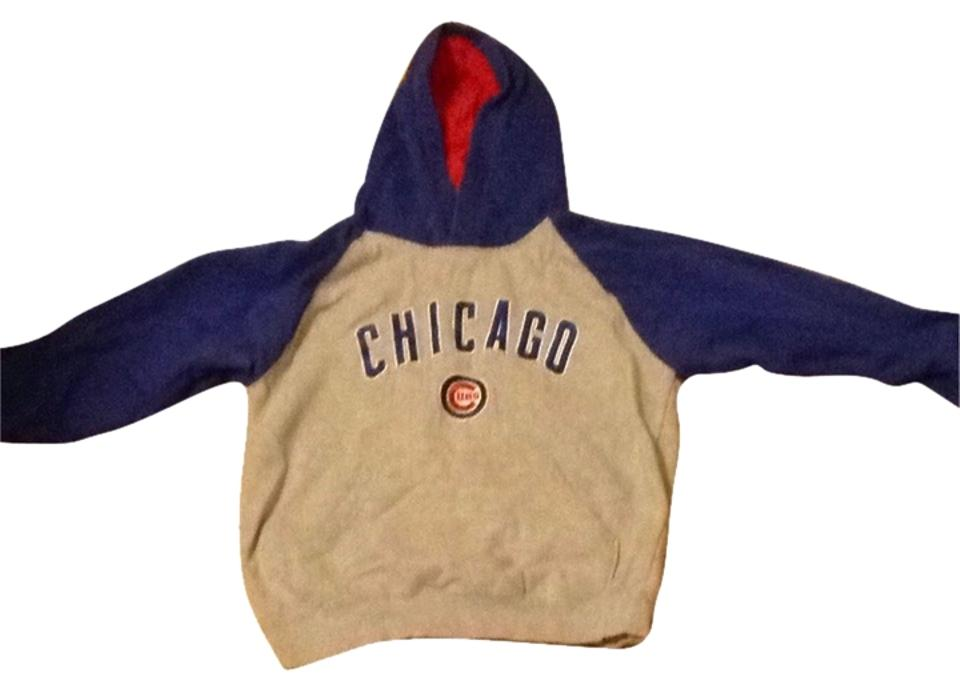 new arrival a941c 08fa4 Grey Blue Red White Chicago Cubs Sweatshirt/Hoodie Size 0 (XS)