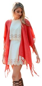 TIN Showroom Beach Kimono Tunic Cover Up Vest
