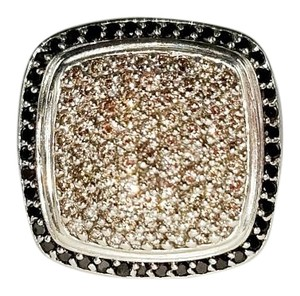 David Yurman David Yurman Black & White Diamond Albion Ring