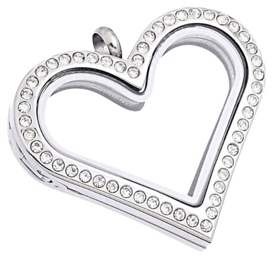 Other Heart Charm Locket Necklace