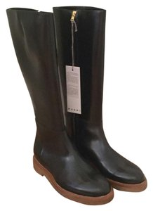 Marni Brand New Zipper Rain Rain City Black Boots