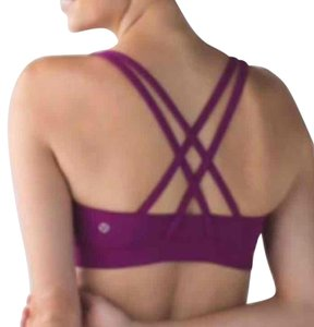 Lululemon NWT LULULEMON ENERGY BRA REGAL PLUM SIZE 4