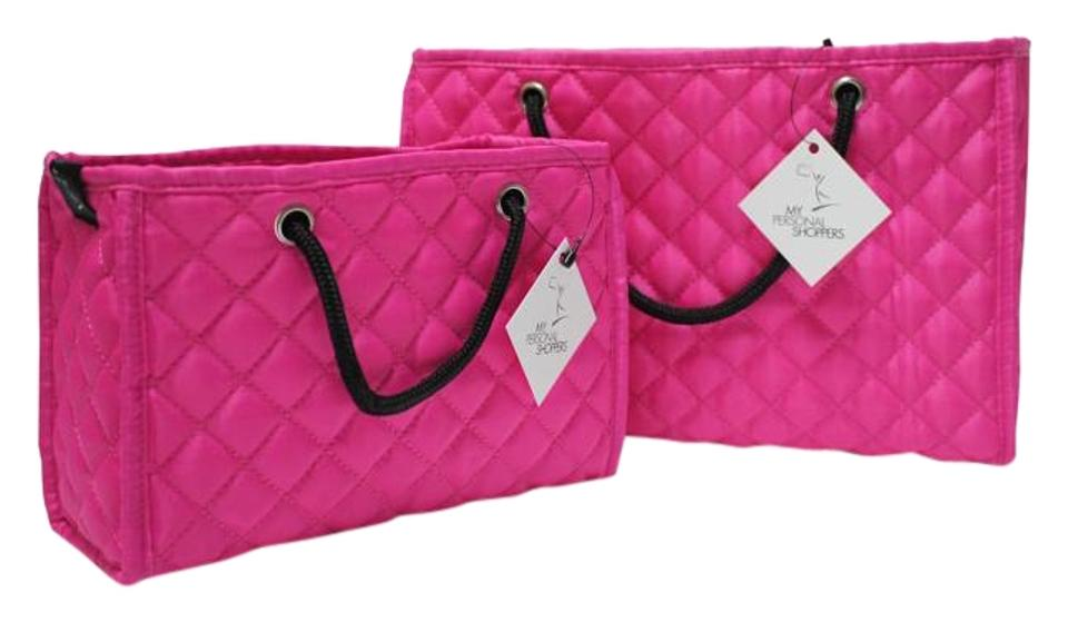 Zoe Quilted Handbag Organizer Insert With Removable Base 2 Pack