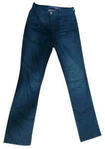 Not Your Daughter's Jeans Stretchy Rhinestones Flattering Boot Cut Jeans-Dark Rinse