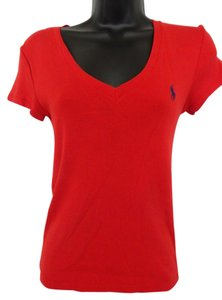 Polo Sport T Shirt Red
