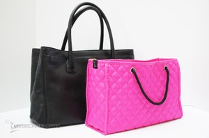 MPS Inc. Zoe Quilted Handbag Organizer Insert for Chanel Bag, Fuchsia, Large
