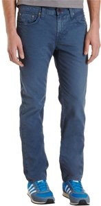 J Brand Mens Slim Blue Straight Leg Jeans-Medium Wash