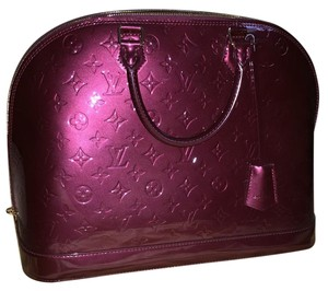 Louis Vuitton Satchel in Rouge Fauviste