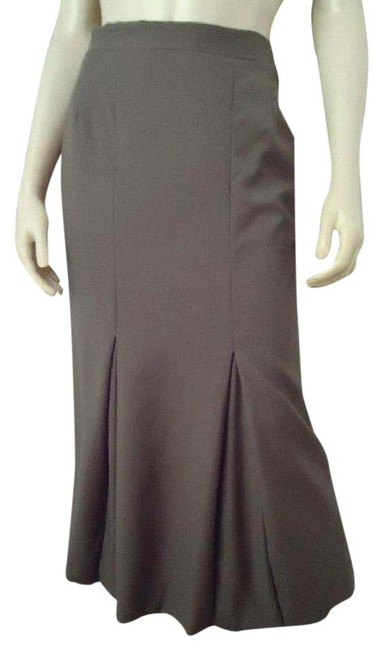 Item - Olive Green Long Fluted Italian Skirt Size 0 (XS, 25)