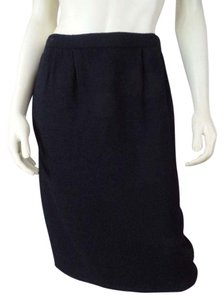 Marie St John Santana Knit Stretch Pockets 2 Skirt Black