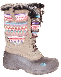 The North Face Winter Winter Boot Heatseeker Brown Multi-Color Boots