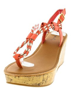 Orange, Neutral, Gold Wedges
