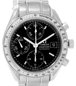 Omega Omega Speedmaster Date Black Dial Automatic Mens Watch 3513.50.00
