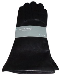 Apt. 9 APT. 9 Soft Black Leather Gloves With Cashmere Lining - Size L - NWT - $50.00