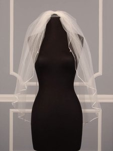Other Ivory Couture Silk Veil