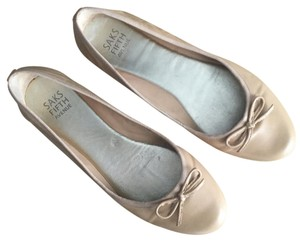 Saks Fifth Avenue Nude Flats