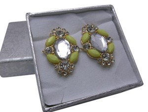 Yellow Fashion Earrings w Free Shipping