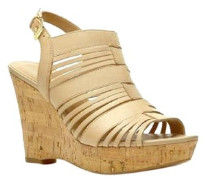 Franco Sarto Wedge Tan Wedges