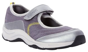 Vionic Action Mary Jane Sneaker Comfortable Gray Athletic