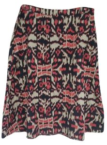 Jones New York Skirt Beige - black - rust orange