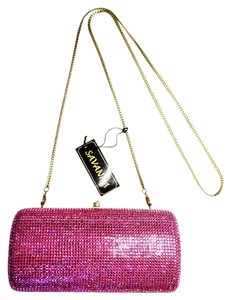 Savannah Deep Pink Clutch