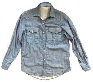 Isabel Marant Button Down Shirt Denim