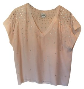 Haute Hippie Silk Top Pink