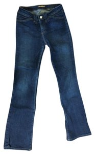 Hudson Jeans Dark Boot Cut Jeans-Dark Rinse