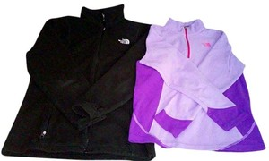 The North Face Black, Purple Jacket
