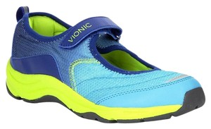 Vionic Action Mary Jane Sneaker Comfortable Blue Athletic