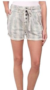 Free People Mini/Short Shorts Cream, blue